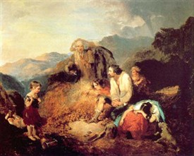 "Photo:""Discovery of the Potato Blight"" by Daniel MacDonald (1821-53)"